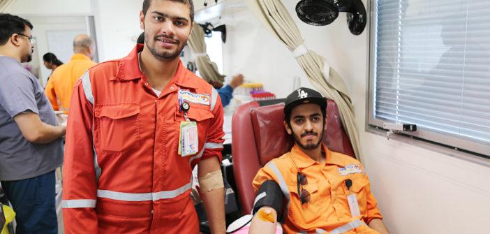 Blood Donation Campaign QAPCO