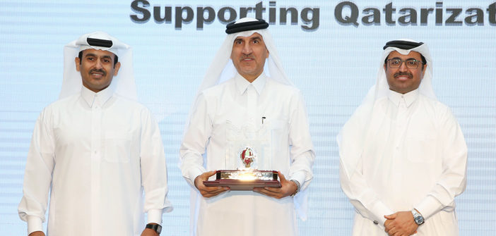 QAPCO wins Qatarization Award 2016