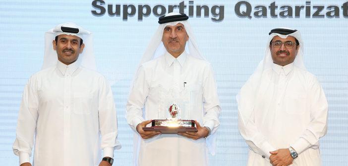 QAPCO wins Qatarization Award 2016